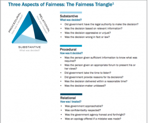 Fairness Triangle Screenshot